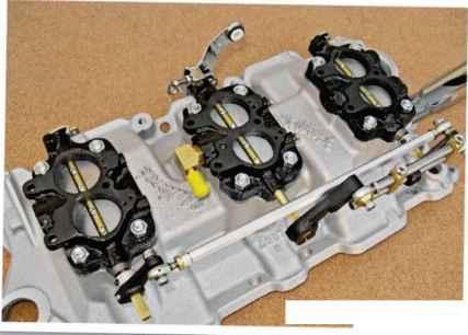 Pontiac GTO Tri Power END CARB Base Linkage Arm  LEVER