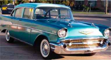 Chevrolet Surf Green Paint