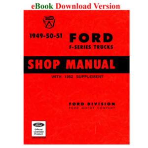 Ford Shop Service Manuals