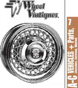Cadillac Wire Wheels