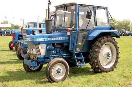 Ford Tractors Cabs Bubble Dual Power