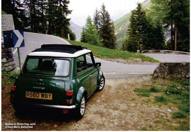 60s Mini Cooper Modified Custom