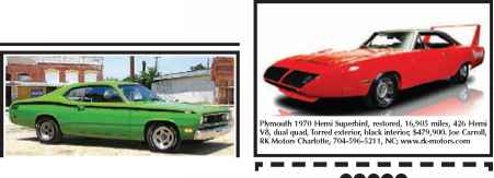 Plymouth - Muscle Cars - Woonky Mobile