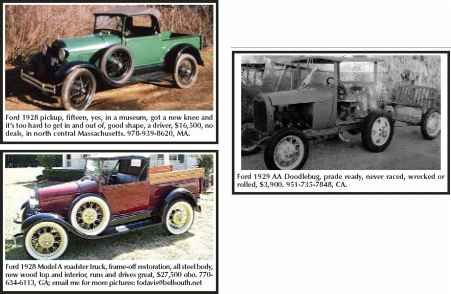 Photos Tops 1928 Model Phaeton