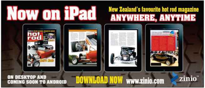 New Zealand Hot Rods